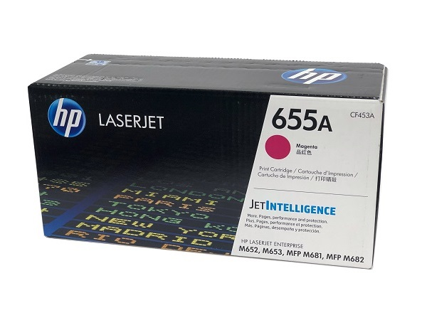HP CF453A (655A) Magenta Toner Cartridge