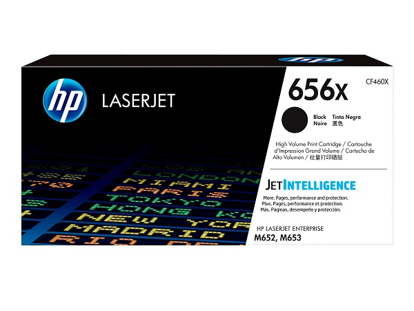 HP CF460X (656X) Black Toner Cartridge