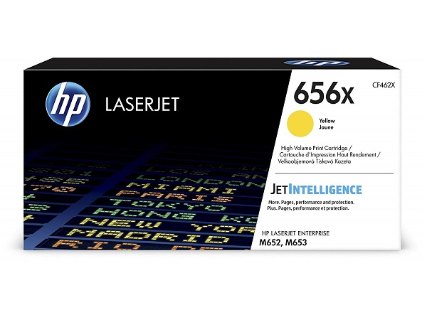 HP CF462X (656X) Yellow Toner Cartridge