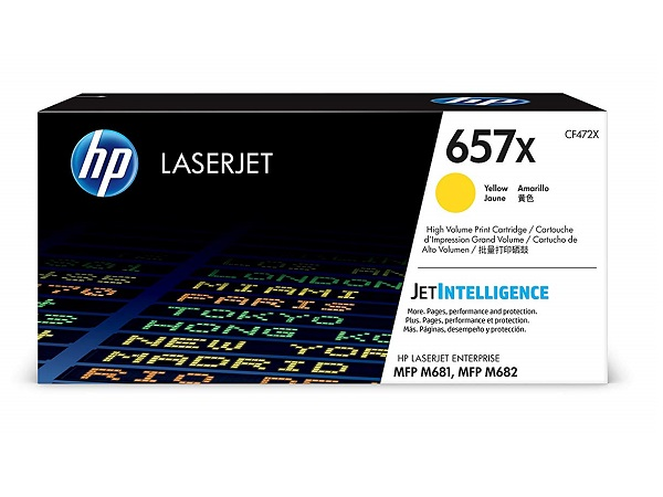 HP CF472X (657X) Yellow Toner Cartridge