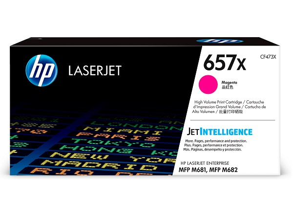 HP CF473X (657X) Magenta Toner Cartridge