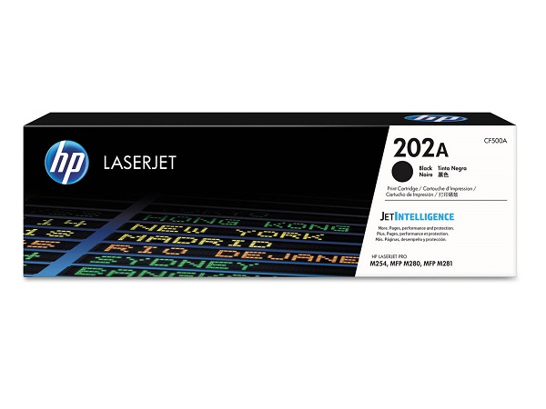 HP CF500A (202A) Black Toner Cartridge