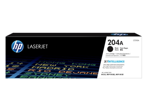 HP CF510A (204A) Black Toner Cartridge