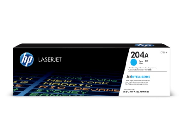 HP CF511A (204A) Cyan Toner Cartridge