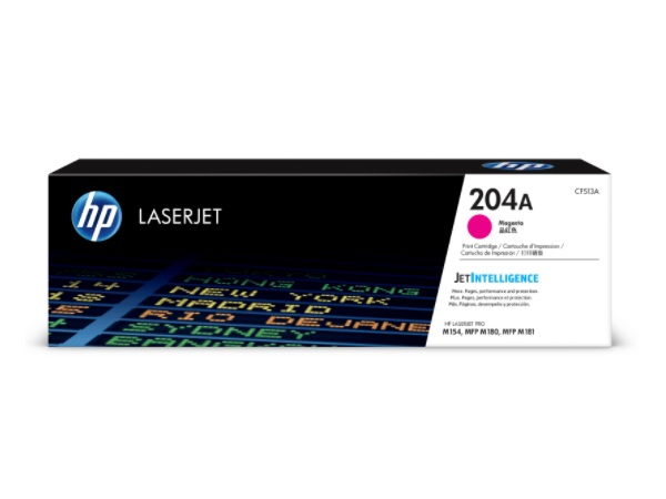 HP CF513A (204A) Magenta Toner Cartridge