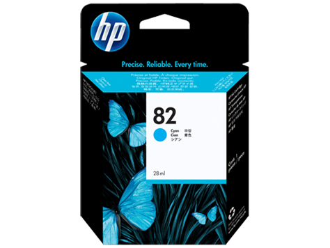 HP CH566A (82) Cyan Ink Cartridge