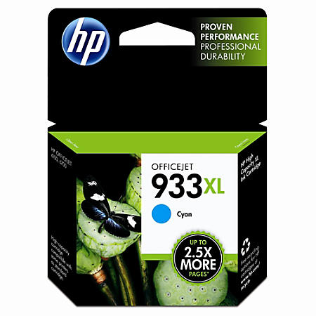 HP CN054AN (933) Cyan Ink Cartridge