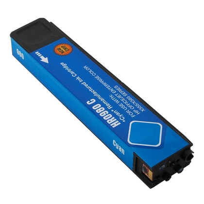 Compatible HP 980A (D8J07A) Cyan Ink Cartridge