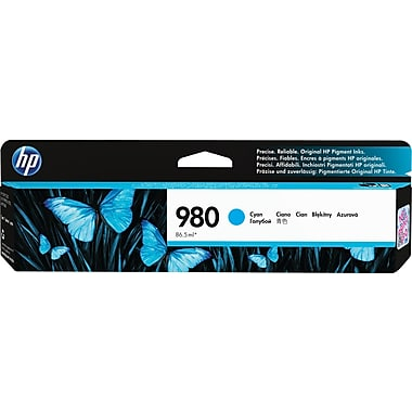 HP 980A (D8J07A) Cyan Ink Cartridge