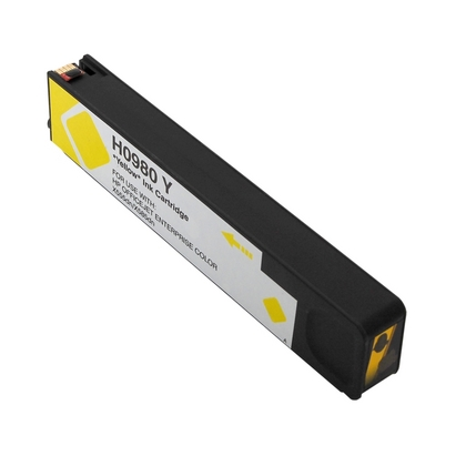 Compatible HP 980A (D8J09A) Yellow Ink Cartridge