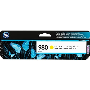 HP 980A (D8J09A) Yellow Ink Cartridge