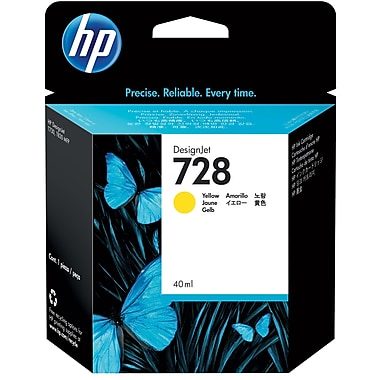 HP F9J61A (728) Yellow Ink Cartridge