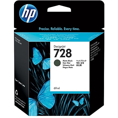 HP F9J64A (728) Matte Black Ink Cartridge
