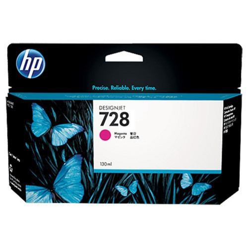 HP F9J66A (728) Magenta Ink Cartridge