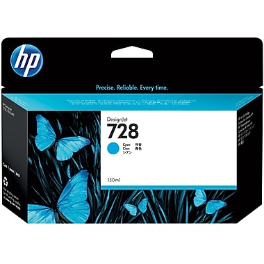HP F9J67A (728) Cyan Ink Cartridge