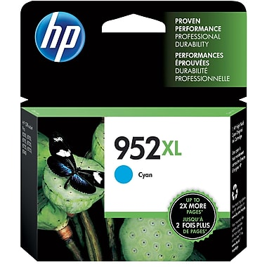 HP L0S61AN (952XL) High Yield Cyan Ink Cartridge
