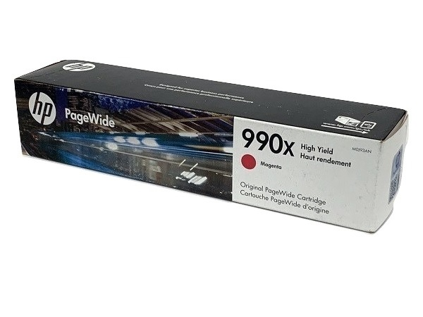 HP M0J93AN PageWide 990X High-Yield Ink Cartridge Magenta