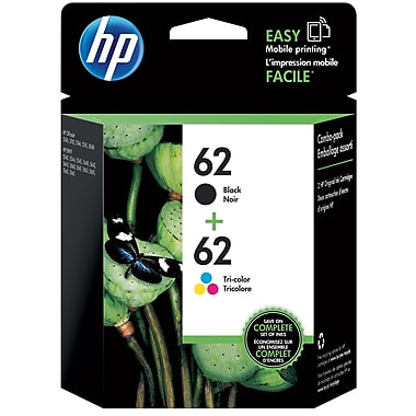 HP N9H64FN (HP 62) Ink Cartridge Combo Pack
