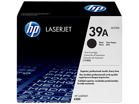 HP Q1339A Black Toner Cartridge - Standard Yield