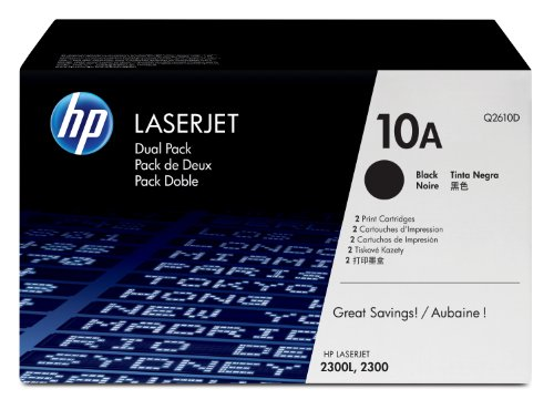 HP Q2610A (10A) Black Toner Cartridge