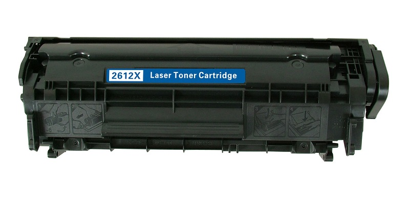 Compatible HP Q2612X (12X) Black Toner Cartridge - High Yield
