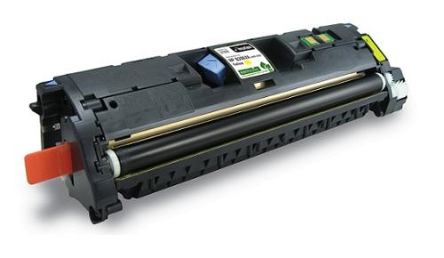 Compatible HP Q3962A Yellow Toner Cartridge