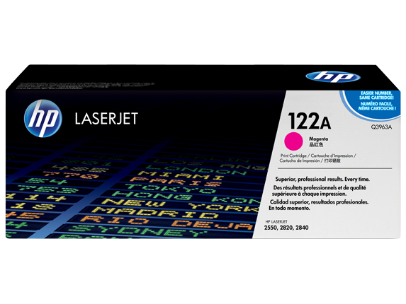HP Q3963A Magenta Toner Cartridge