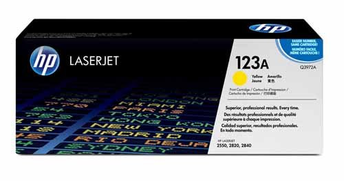 HP Q3972A Yellow Toner Cartridge