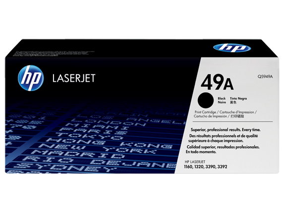 HP Q5949A (49A) Black Toner Cartridge