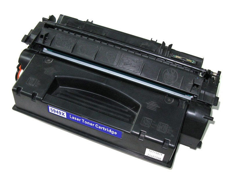 Compatible HP Q5949X (49X) Black Toner Cartridge - High Yield