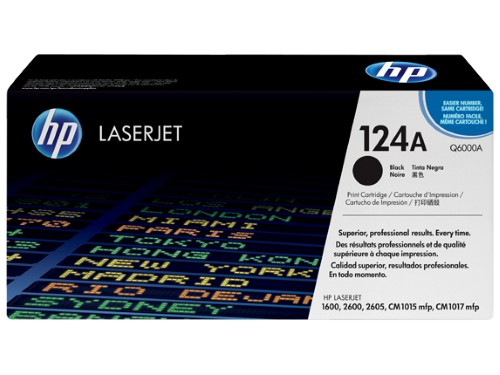 HP Q6000A (124A) Black Toner / Drum Cartridge