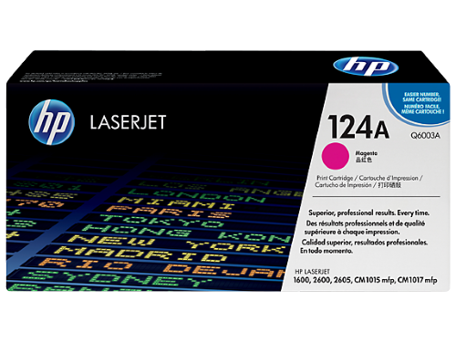 HP Q6003A (124A) Magenta Toner / Drum Cartridge