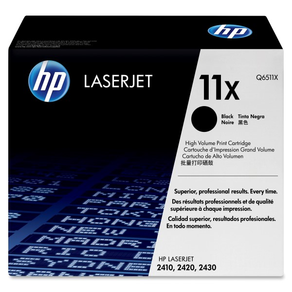 HP Q6511X (11X) Black Toner Cartridge - High Yield