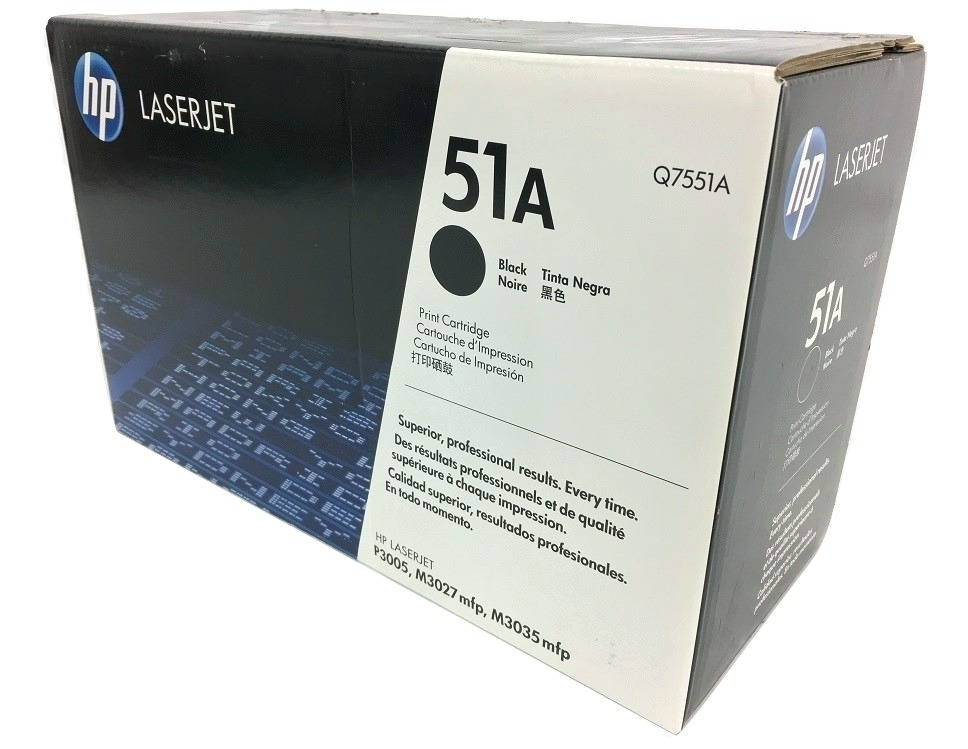 HP Q7551A (51A) Black Toner Cartridge