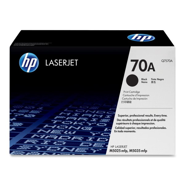 HP Q7570A (70A) Black Toner Cartridge