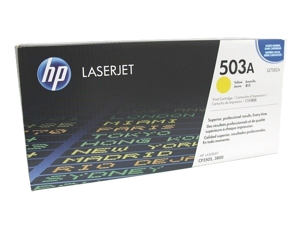 HP Q7582A (503A) Yellow Toner Cartridge