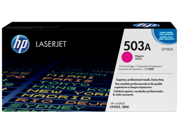 HP Q7583A (503A) Magenta Toner Cartridge