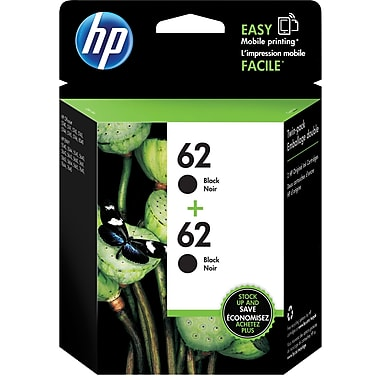 HP T0A52AN (HP 62) Black Ink Cartridge 2-Pack