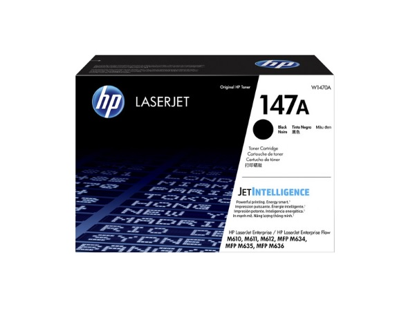 HP W1470A (147A) Black Toner Cartridge