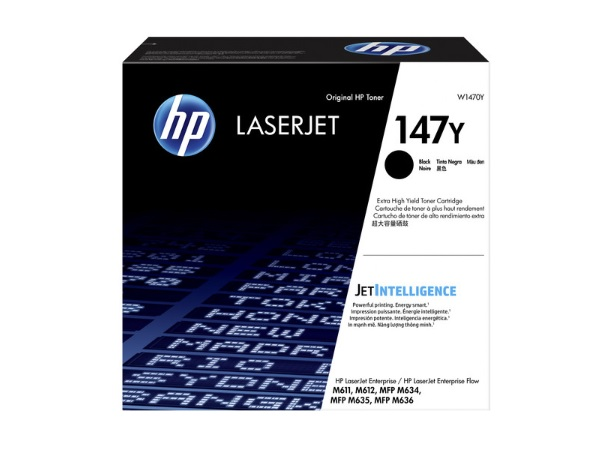 HP W1470Y (147Y) Extra High-Yield Black Toner Cartridge