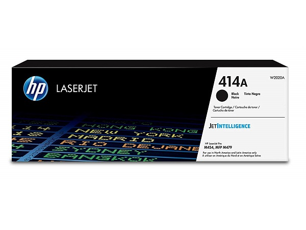 HP W2020A (414A) Black Toner Cartridge
