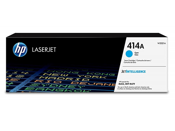 HP W2021A (414A) Cyan Toner Cartridge