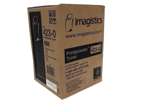 Imagistics 423-0 Black Toner Bottles