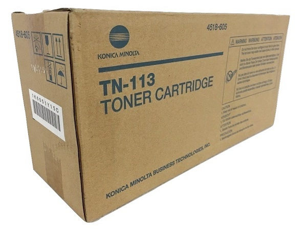 Konica Minolta 4518-605 (TN113) Black Toner Cartridge