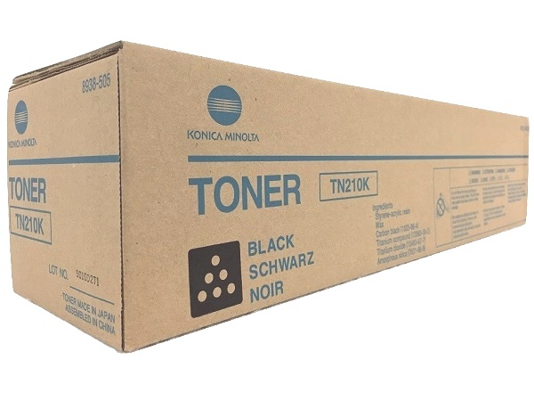 Konica Minolta 8938-505 (TN210K) Black Toner Cartridge
