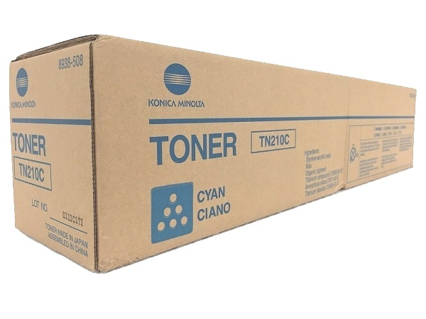 Konica Minolta 8938-508 (TN210C) Cyan Toner Cartridge