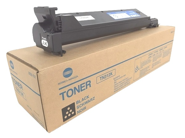 Konica Minolta 8938-701 (TN312K) Black Toner Cartridge