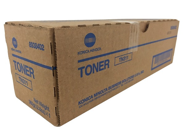Konica Minolta 8938-402 (TN311) Black Toner Cartridge
