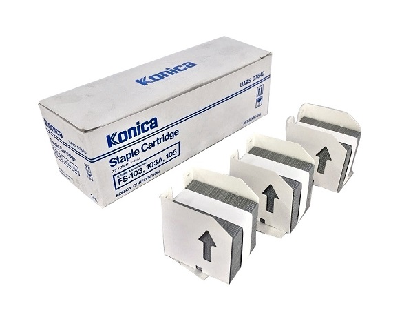 Konica Minolta 4448-121 (950-764) Staple Cartridge, Box of 3