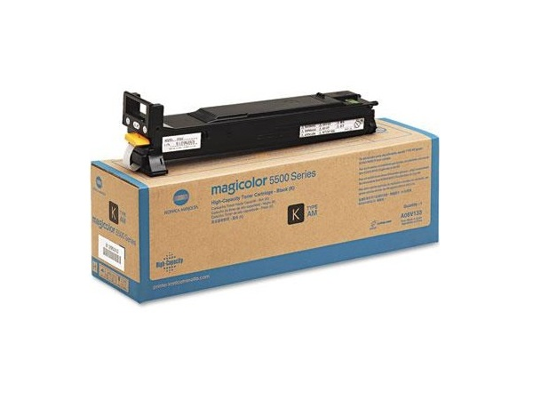 Konica Minolta A06V133 Black High Yield Toner Cartridge